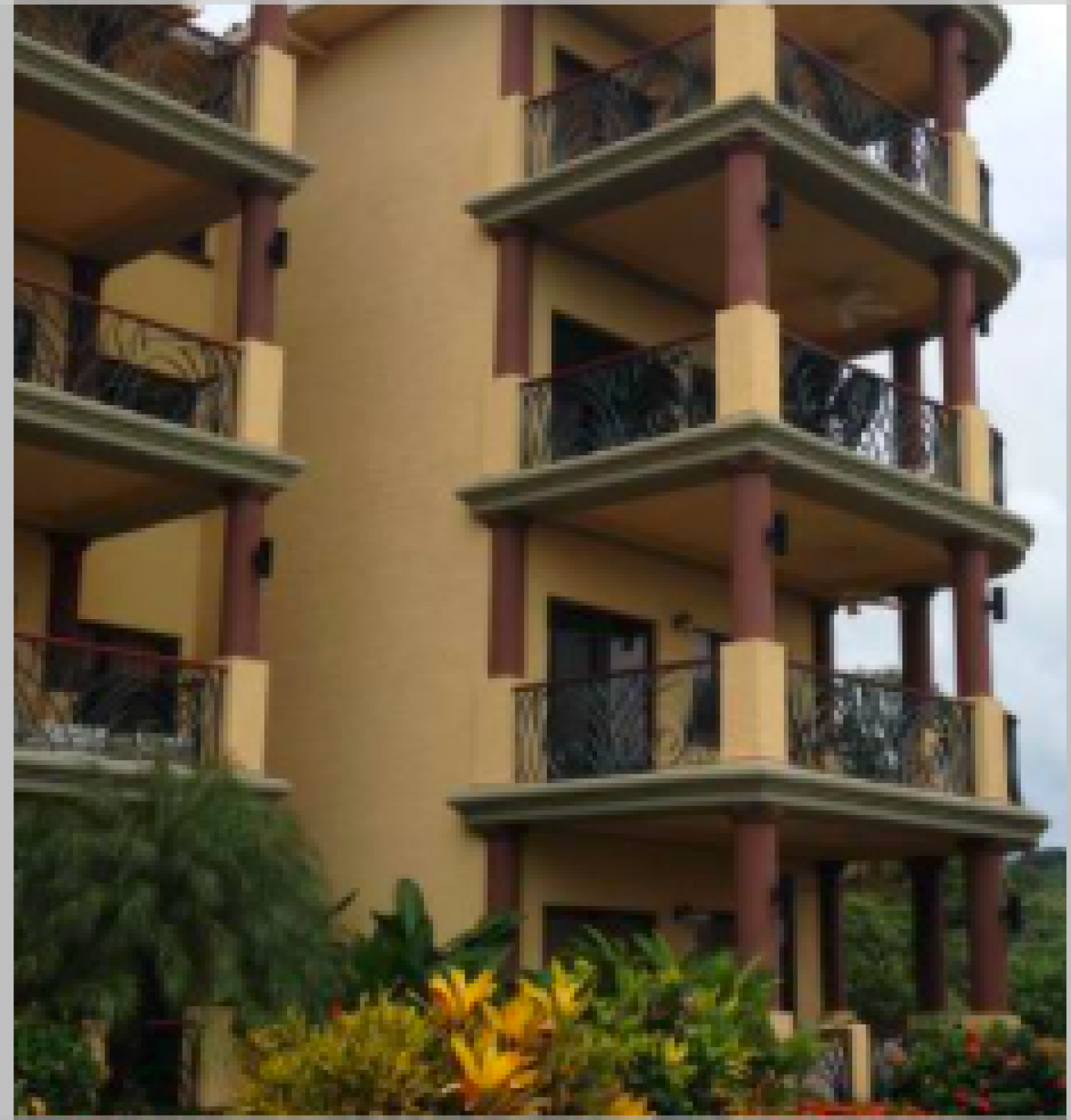 Just one of the well designed and maintained complexes of Pineapple Villas.