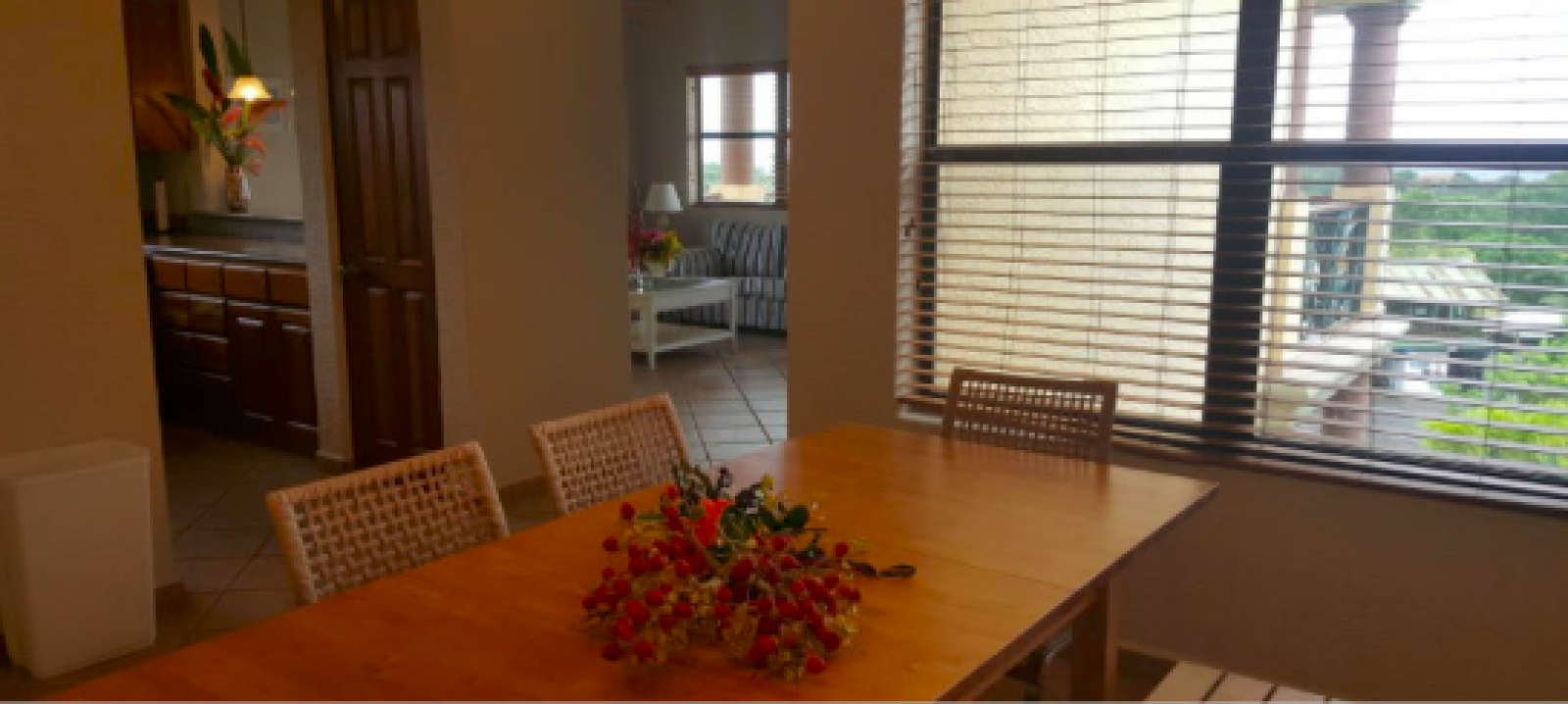 A separate dining area for those more formal occasions.