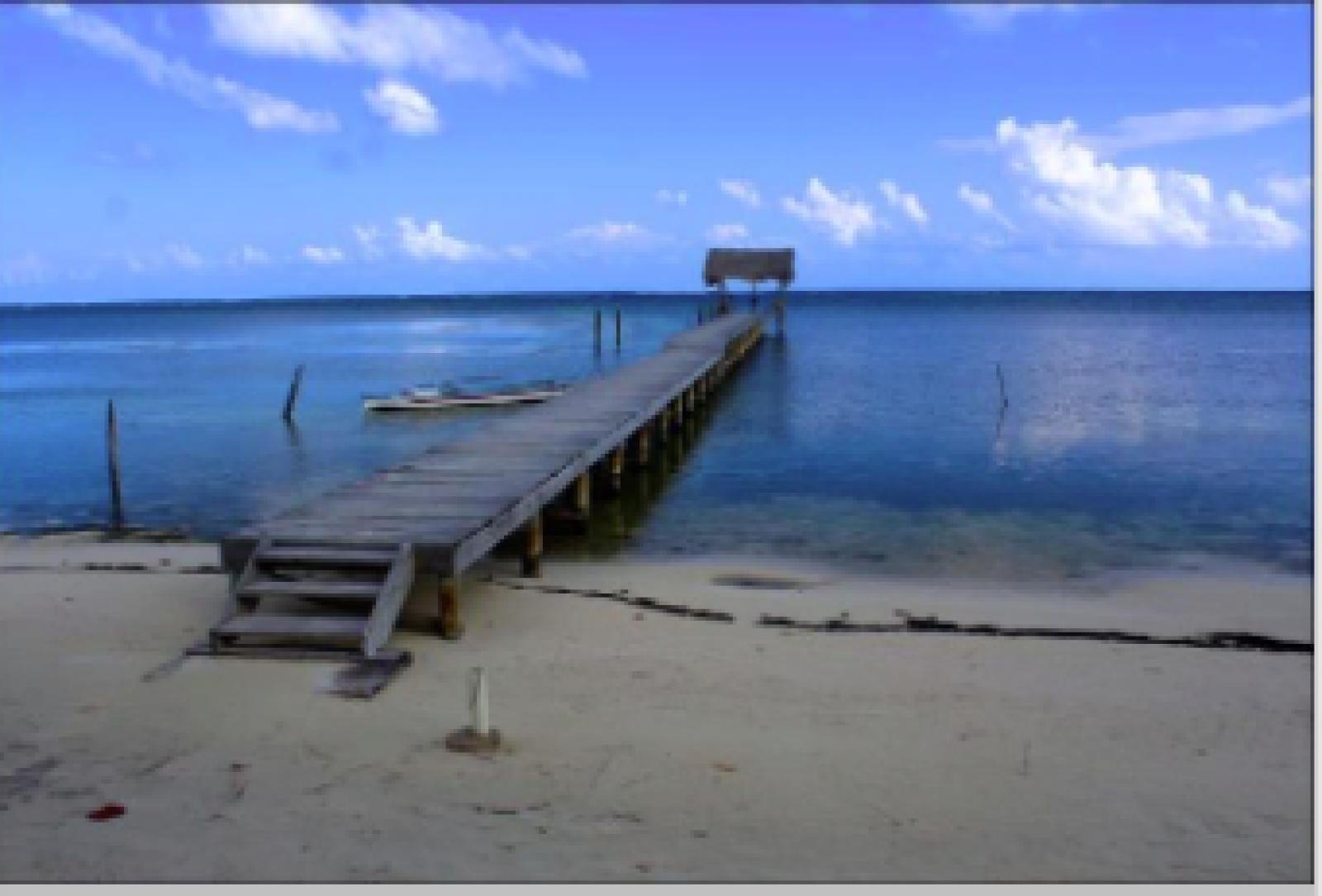 The community dock perfect for snorkeling, boating, fishing or hammocking.
