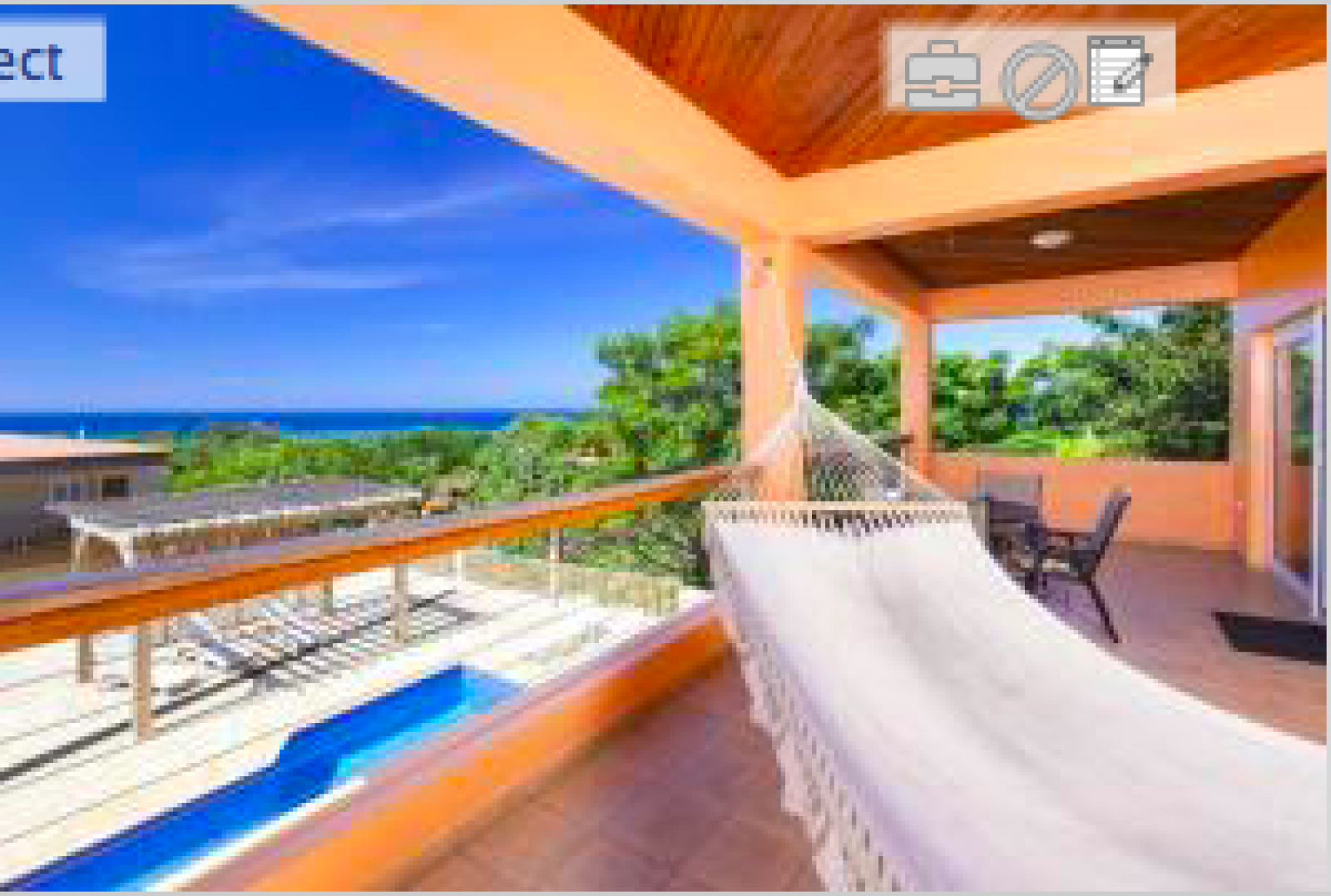 Relax and enjoy the breezes and views from the verandah.