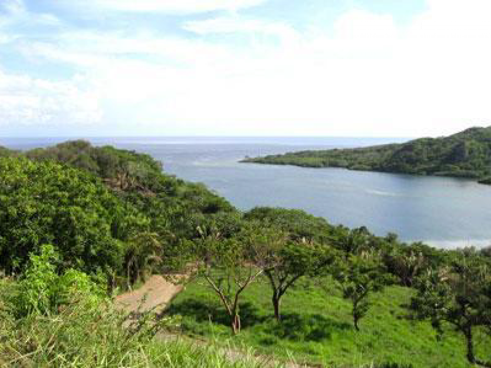 Each homesite with spectacular views over Caribe Bight out to the Caribbean Sea